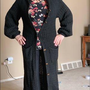 Jackets & Blazers - Authentic handknitted Hippie Sweater Coat